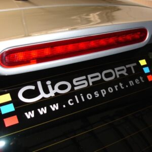 Cliosport Logo Sticker (FULL COLOUR)