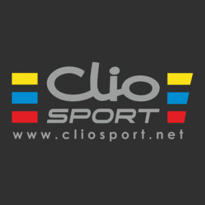 ClioSport Logo Sticker - Style 2