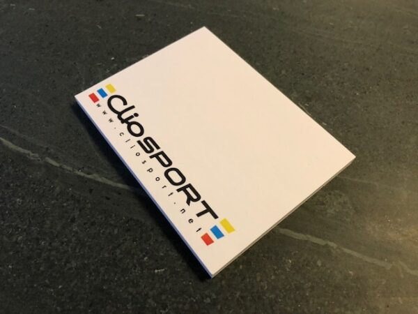 ClioSport Sticky Notepad