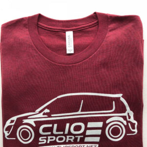 Clio Car T-Shirt - White Logo