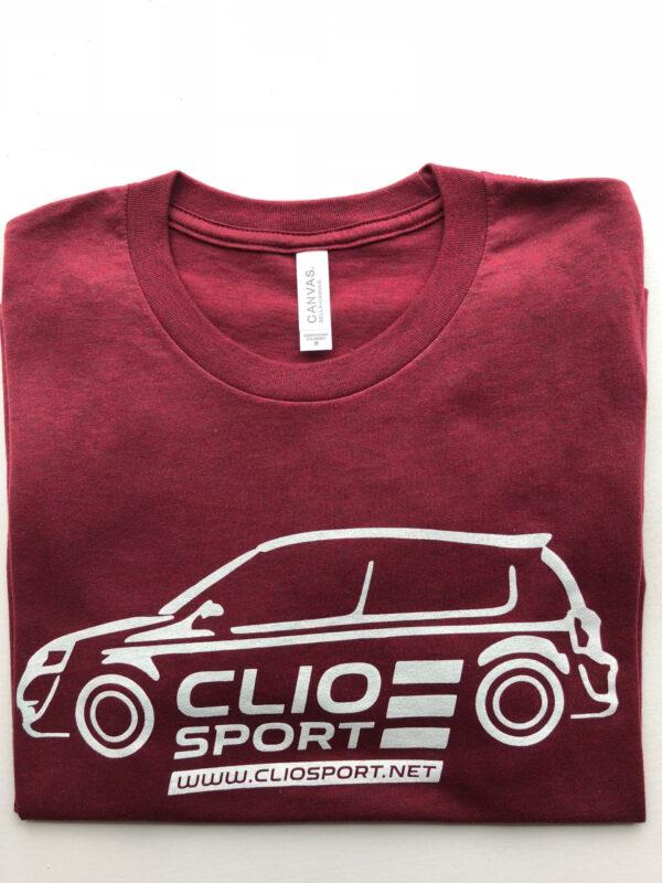 Clio Car T-Shirt - White Logo